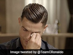 Watch: Ronaldo In Tears On Seeing Video Of Father Who Died 14 Years Ago
