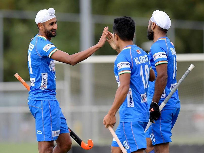 Harmanpreet Singh Scores Twice As India Thrash Spain 6-1