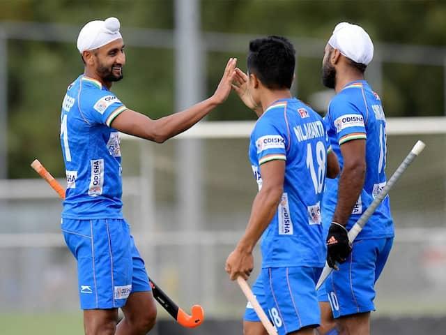 Harmanpreet Singh Scores Twice As India Thrash Spain 6-1