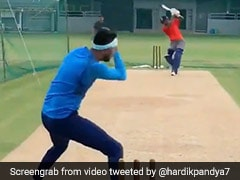 "Watch: Hardik Pandya Pokes Fun At Brother Krunal Pandya After ""Almost Knocking Head Off"""