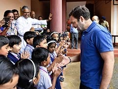 "Rahul Gandhi's Full Marks To ""Trolls, Some Journalists"" On Teacher's Day"