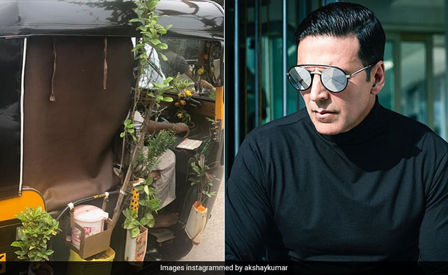 Akshay Kumar Spotted This Utterly Unique Mumbai Auto-Rickshaw