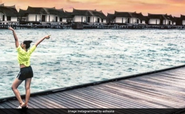 Sonakshi Sinha Left Her Heart In Maldives, As These Pics Show