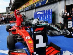 F1: Leclerc Beats Hamilton To Secure First-Ever Win In Belgian GP