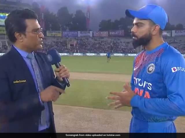 Virat Kohli Credits Sanjay Manjrekar For Motivating Him During Mohali T20I Against South Africa
