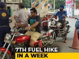 Video : Petrol, Diesel Prices Up For Seventh Straight Day