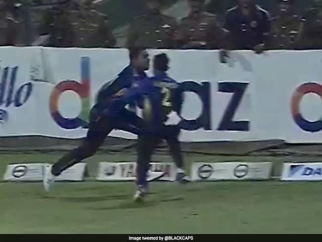 Sri Lankas Shehan Jayasuriya, Kusal Mendis Collide Near Boundary, Give New Zealand A Six In Final Over
