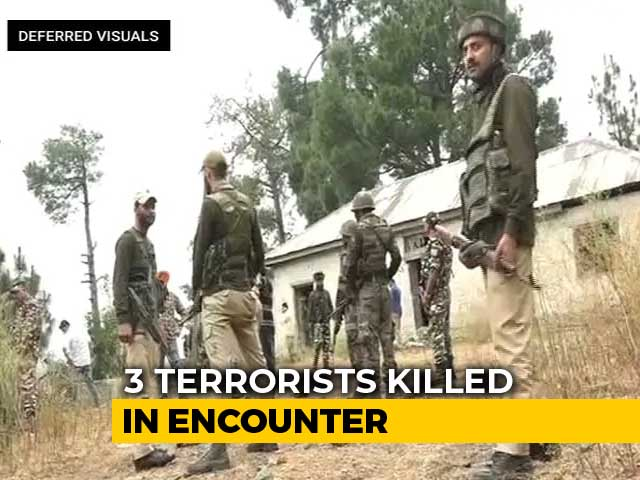 Video : 3 Terrorists Killed, Hostage Rescued In Encounter In J&K's Ramban