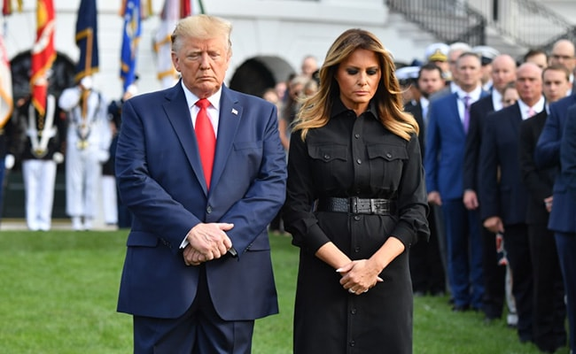 Trump Vows To 'Hit Enemy Harder Than Ever' As US Remembers 9/11