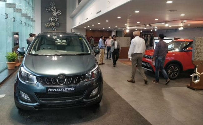 Mahindra has extended its production shutdown from 8 - 17 days.