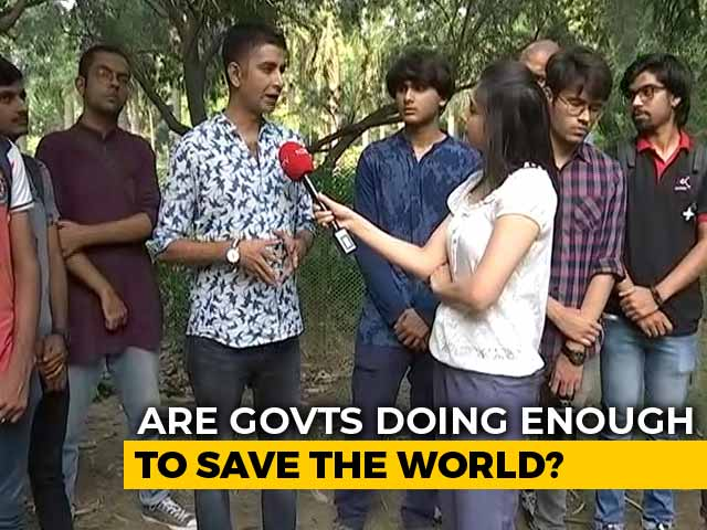 Video : Indian Children Seek Share In Climate Justice After Greta Thunberg's Speech