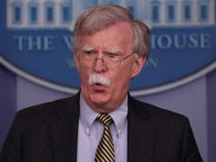 """Classified Material In Manuscript, Can't Publish"": White House To John Bolton"