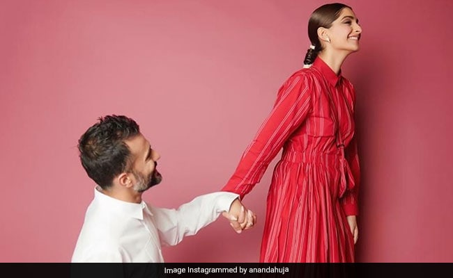 Ahead Of The Zoya Factor's Release, Anand Ahuja Shares A Pic With His 'Lucky Charm' Sonam Kapoor