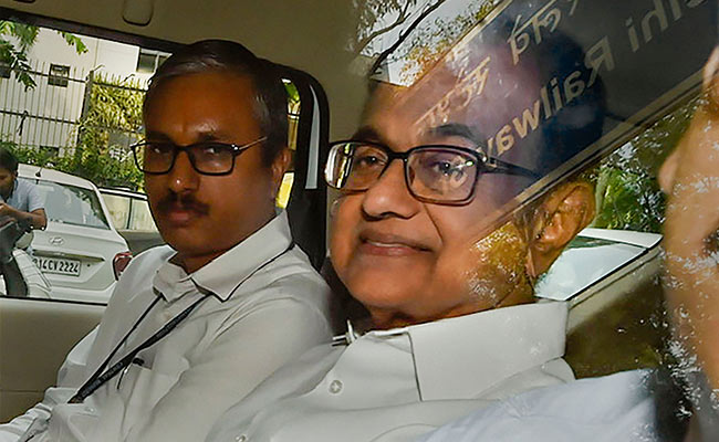 'God Save India's Economy': P Chidambaram After BJP Leader's GDP Remark