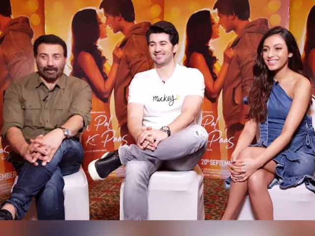 Video : Sunny Deol, Karan Deol And Sahher Bambba On <i>Pal Pal Dil Ke Paas</i>