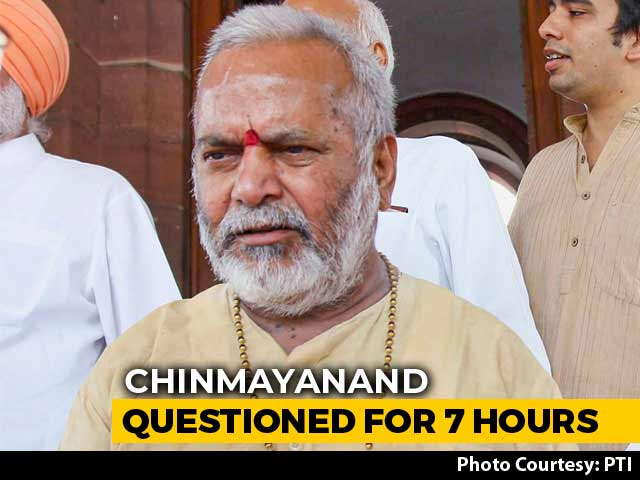 Video : BJP's Chinmayanand, Accused Of Rape By Student, Questioned For 7 Hours