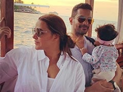 May Your Head Be High And Your Ponytail Even Higher,' Neha Dhupia Writes In Her Note For 10-Month-Old Daughter Mehr