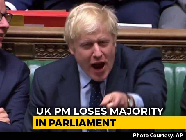 Video : UK PM Boris Johnson Loses Majority As MP Joins Liberal Democrats