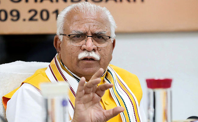 Haryana Assembly Election 2019: Manohar Lal Khattar Again Targets Sonia Gandhi For Becoming Congress Chief