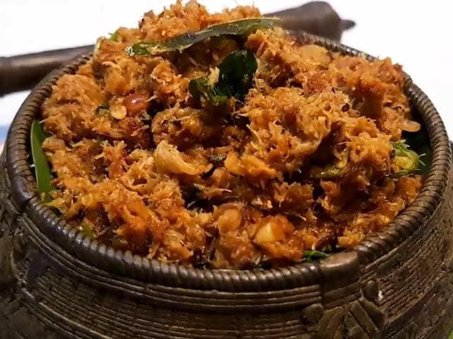 Video : Andhra Crab Meat Masala Recipe