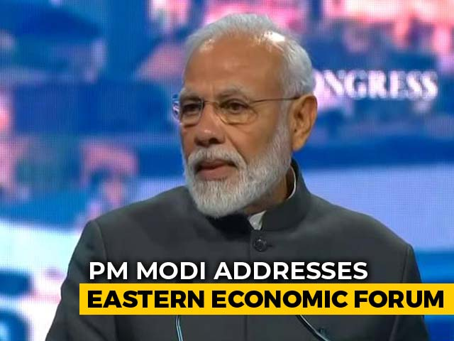 Video : PM Announces $1 Billion Line Of Credit For Russia Far East's Development