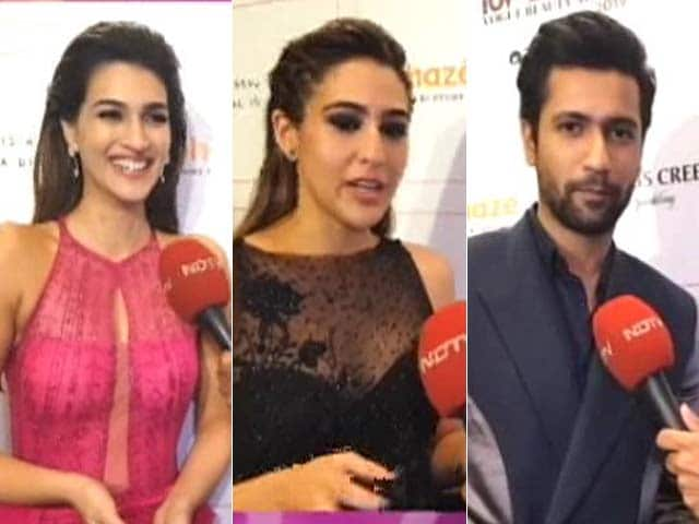 Exclusive: Stars Chat With NDTV At Vogue Beauty Awards 2019