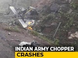 Video : 2 Killed As Indian Military Training Team's Helicopter Crashes In Bhutan