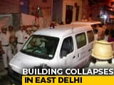 Video : 2 Dead After Building Collapses In Delhi, Some Feared Trapped: Official