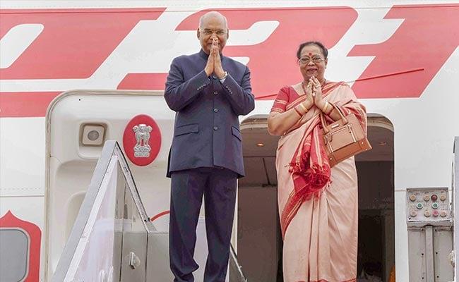 President Ram Nath Kovind On 3-Day Visit To Jharkhand
