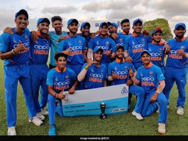 U-19 Asia Cup: India beats Pakistan by 60 Run