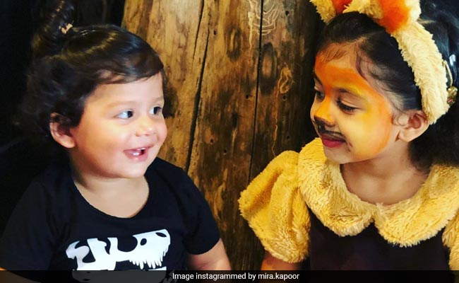 Misha And Zain Kapoor 'Roared' Their Way Into Our Hearts With This Pic