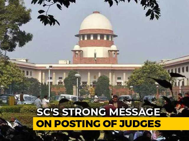 "Video : ""Interference"" In Judges' Appointments, Transfers Not Good: Supreme Court"