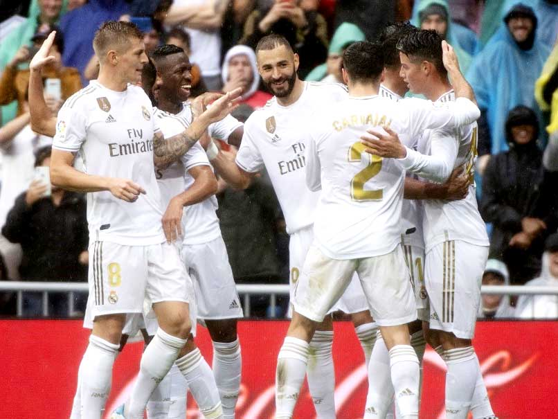 Real Madrid Hang On For Win After Karim Benzema Brilliance