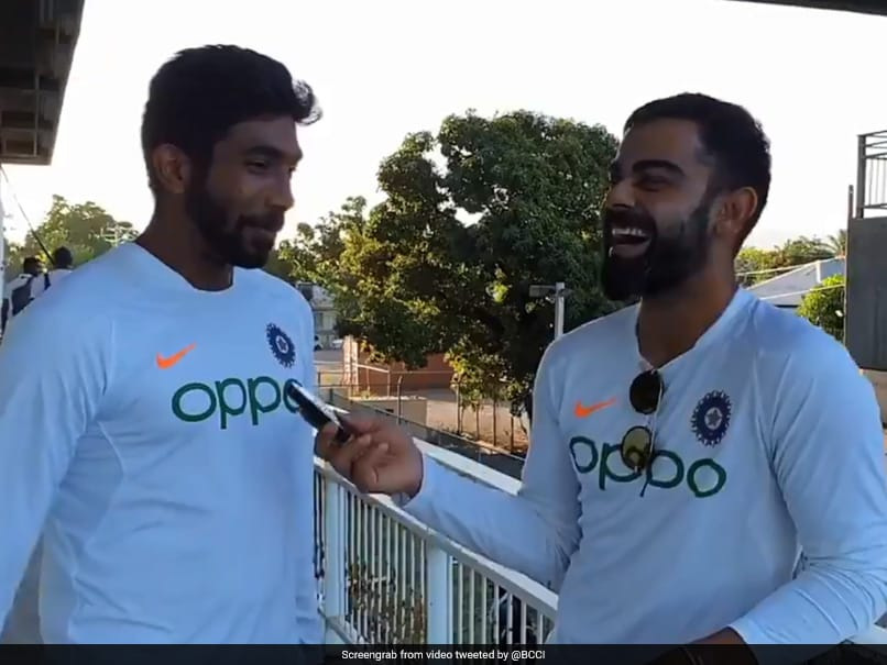 Watch: Virat Kohli Bursts Into Laughter As Jasprit Bumrah Credits Him For Hat-Trick