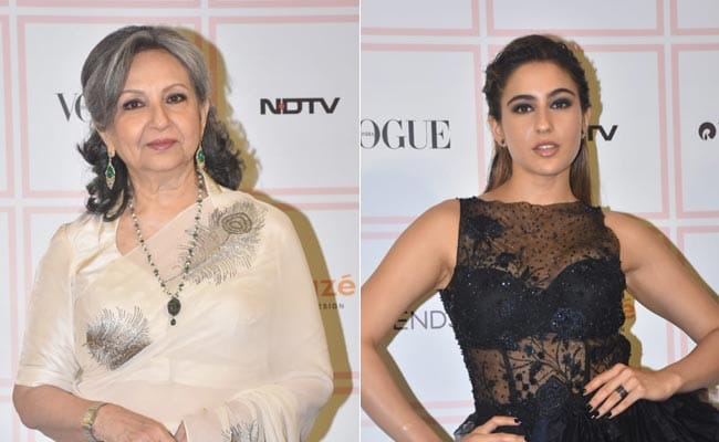Vogue Beauty Awards 2019: What Sara Ali Khan Said About Walking The Red Carpet With Sharmila Tagore