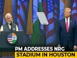 Video : PM Modi Addresses Packed 'Howdy, Modi!' Event In US, Donald Trump Attends