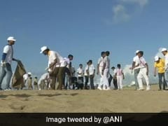 World's Largest Clean-Up Drive Held At Odisha's Puri Beach: Officials