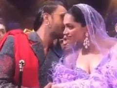 IIFA 2019: Ranveer Singh, World's Best Husband, Kissed Deepika Padukone And Helped Carry Her Veil