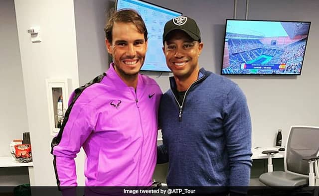 Watch: Tiger Woods Brilliant Reaction To Rafael Nadal Backhand Winner At US Open