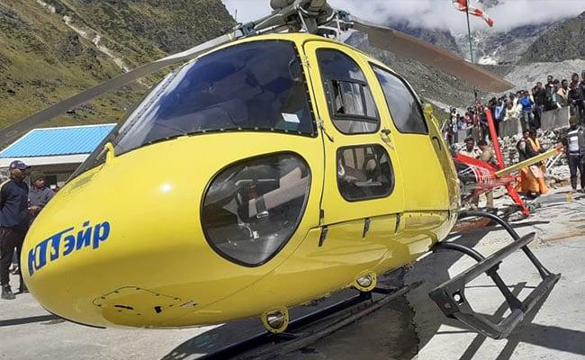 6 Passengers Injured After Helicopter Crash-Lands In Kedarnath