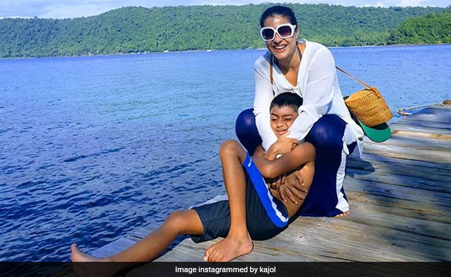 Kajol's Son Yug, 9 Today, Kills It With Joey From F.R.I.E.N.D.S' Iconic Line