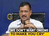 Video : From Rs. 80 Per Kg, Arvind Kejriwal Promises Rs. 24 Per Kg Onion In Delhi