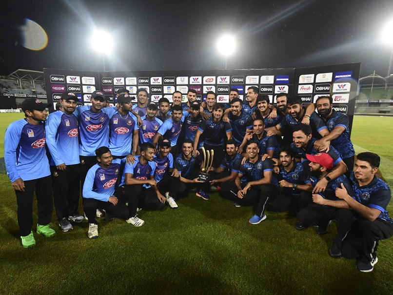 Bangladesh, Afghanistan Share Trophy After Rain Washes Out Final