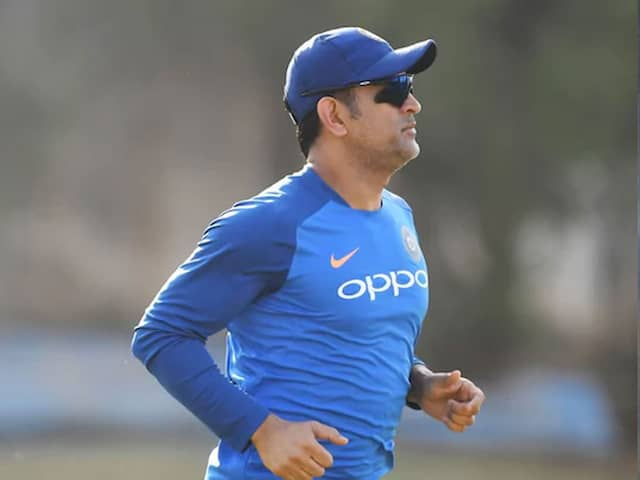 MS Dhoni Unavailable For Selection Until November