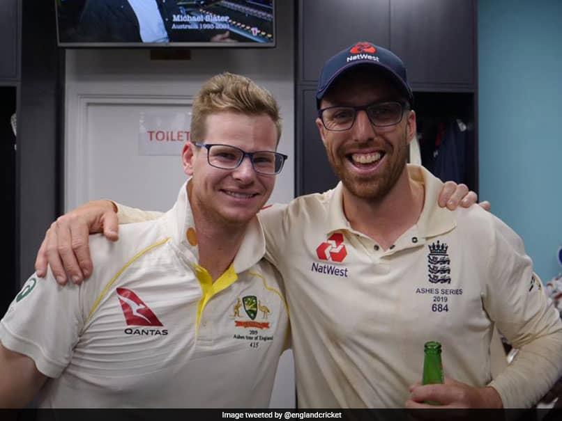 """Steve Smith, Jack Leach Play Down """"Spectacles"""" Controversy After Ashes Draw"""