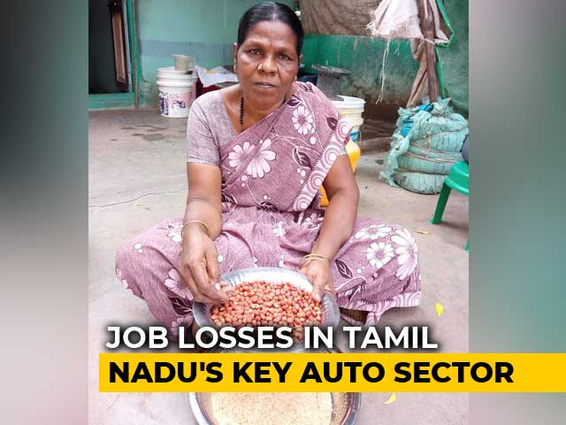 Video : Laid-Off Employees Deep In Debt As Slowdown Hits Tamil Nadu Auto Hub