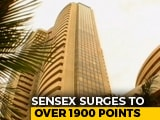 Video : Sensex Jumps 1,950 Points, Nifty Tops 11,250 After Corporate Tax Cut