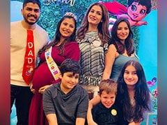 'My Baby's Baby': Raveena Tandon Shares Pics From Daughter Chhaya's Baby Shower