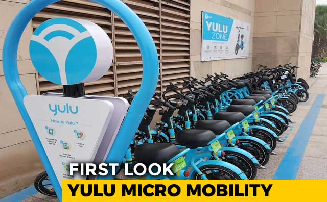 Video : First Look: Yulu Micro Mobility