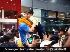 Amit Panghal Receives Hero's Welcome As He Returns From World Boxing Championships With Historic Silver. Watch